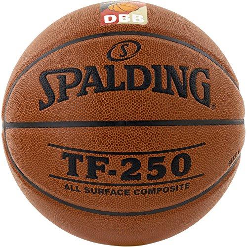 Spalding Basketball TF250 DBB In/out 74-592z, Orange - Größe 5