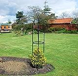 Kingfisher Tuteur à plantes en métal en forme d'obélisque 1,9 m...