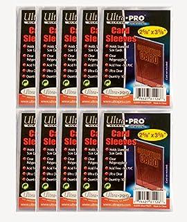 400 Stück Ultra Pro Standard Hüllen Sleeves 4x 100er Packs Regular Soft Card