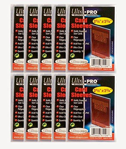 Buste trasparenti per giochi di carte collezionabili