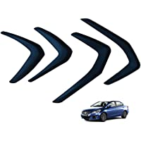 Hi Art Car Custom Fit Bumper Scratch Protectors Compatible with Maruti Suzuki Ciaz (2014-2018), Set of 4