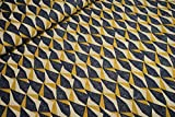 mollipolli-Stoffe Deko Canvas Stoff abstrakte Dreiecke