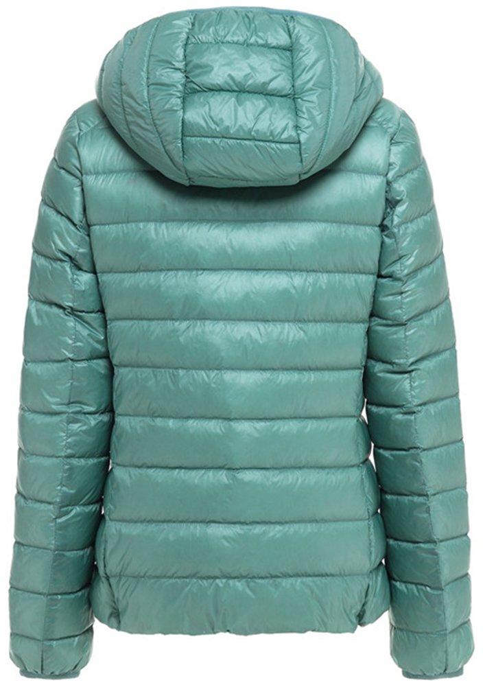 Mochoose Donna Inverno con cappuccio Giù Giubbotto imbottito cappotto Packable ultra leggero 2 spesavip