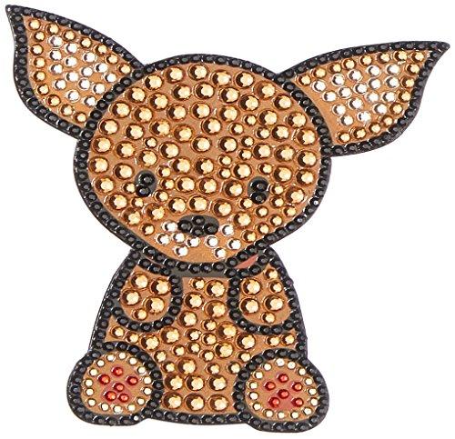 FouFou Dog 92953 Rhinestone Stickers Chihuahua Geschenkidee Aufkleber -