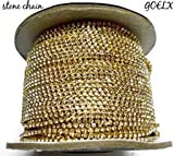 #6: Stone chain for jewellery making, pack of 2 meters
