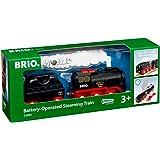 BRIO- Dampflok mit Wassertank-33884 Trenes, construcción, Multicolor (33884)