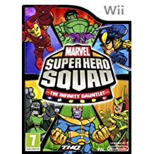 Marvel Super Hero Squad The Infinity Gauntlet Game Wii