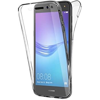 Buyus Coque Gel Huawei Y6 2017 Coque 360 Degres Protection