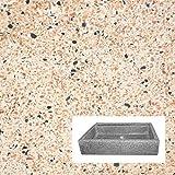 LAVELLO DA GIARDINO CM83X60X20H ROSA LEVIGATO, usato usato Spedito ...