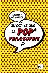 Qu'est-ce que la pop'philosophie ? par Sutter