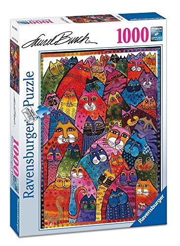 Ravensburger Laurel Burch - Fantastic felines, 1000 Puzzle Pieces, 70 x 50 cm 196302