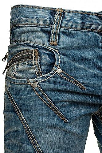 Jeans Homme Cipo and Baxx C-0953 Bleu