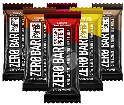 Biotechusa zero bar 20*50 g cioccolata nocciola