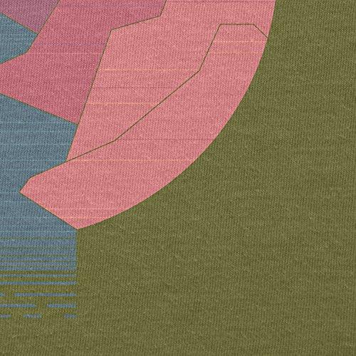 Texlab–The Canyon–sacchetto di stoffa Oliva