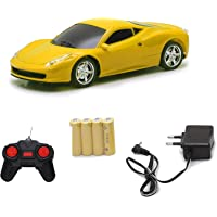 The Flyers Bay Speedster Rechargeable Remote-Controlled Car, RC Car (Yellow)