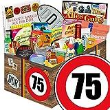 75. Geburtstag | DDR Geschenkbox | 24tlg. Geschenkset DDR