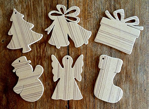 beautiful-set-of-6-different-paintable-hand-crafted-mdf-christmas-tree-decorations-3mm-thick