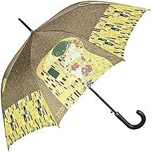VON LILIENFELD Paraguas automático motivo del arte/con motivo Gustav Klimt:El beso
