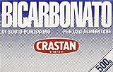 Crastan - Policarbonato di Sodio per Uso Alimentare - 4 pezzi da 500 g [2 kg]