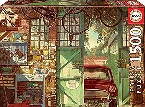 Educa Borras Puzzle Old Garage, Arly Jones 1500 Piezas (18005)