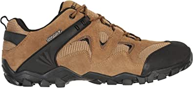 Mountain Warehouse Curlews Mens Waterproof Walking Shoes - Quick Drying Hiking Footwear, Suede & Mesh Outer Material Outdoor Shoes, Rubber Sole - Ideal for Camping, Hiking