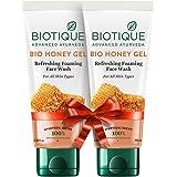 Biotique Honey Face Wash, 100 ml (Pack of 2)