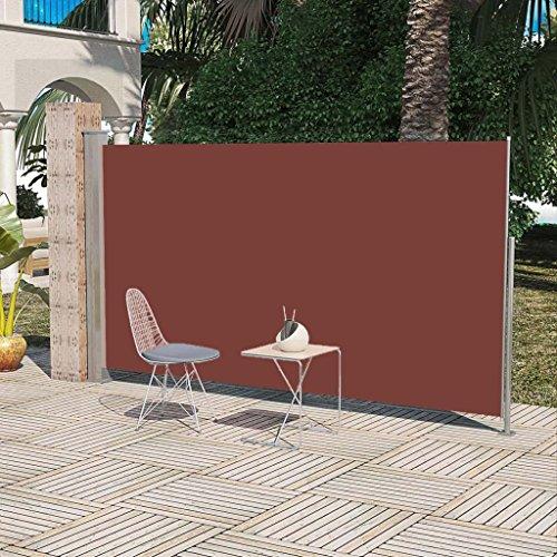 SENLUOWX Sonnensegel für Garten oder Terrasse 160x 300cm braun