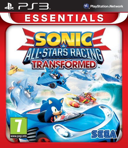 Sonic All-Stars Racing Transformed Essentials (PS3) (PEGI) (Racing Games Ps3)