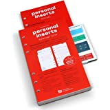 weekview Personal-Einlagen 2019, 1 Woche auf 2 Seiten, inkl. 64 S. Notizteil, Griffregister, Filofax-Lochung