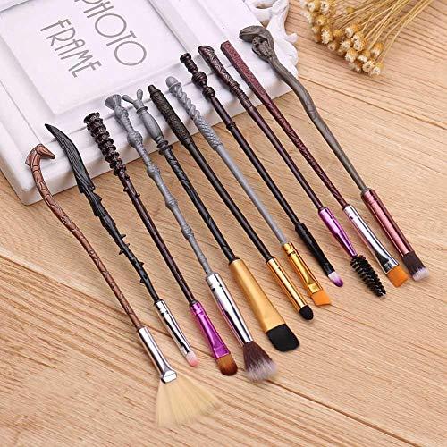remote.S 11 Pinceaux Maquillage Cosmétique Professionnel Set/Kit Cosmétique Brush Beauté Maquillage Brosse Makeup Brushes Cosmétique Fondation