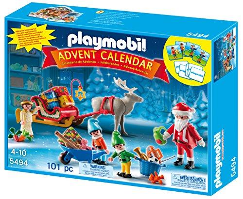 Calendario Avvento Playmobil.Playmobil 5494 Calendario Dell Avvento Atelier Di Babbo