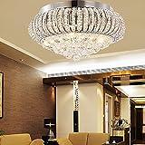 KJLARS Kristall Deckenleuchte Deckenlampe Modern Deckenbeleuchtung für Wohnzimmer/Schlafzimmer (40cm)