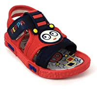 Coolz Kids Chu-Chu Sound Musical First Walking Sandals Baby-2 for Baby Boys and Baby Girls for 12-24 Months