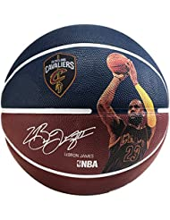 Spalding Nba Player Lebron James - Serie NBA Giocatore , Blu, 7