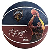 Spalding Erwachsene Ball NBA Player Lebron James 83-349Z Basketball, Dunkelblau, 7