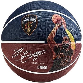 Spalding NBA Player Lebron James Sz.7 83-349Z Balón de Baloncesto ...
