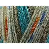 King Cole Splash DK Knitting Wool/Yarn Fjords 873 - per 100g ball