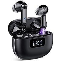 Bluetooth Kopfhörer, Kopfhörer Kabellos mit HiFi Stereo Sound, CVC 8.0 Geräuschisolierung, IPX7 Wasserdicht, 40 Std…