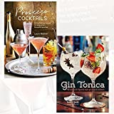 prosecco cocktails and gin tonica 2 books collection set - 40 tantalizing recipes for everyone's favourite sparkler, 40 recipes for spanish-style gin and tonic cocktails
