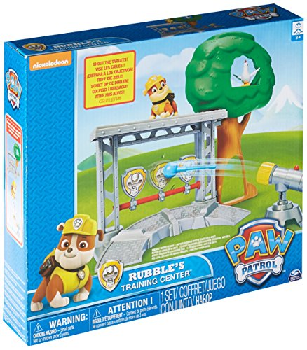 ubbles Rettungs-Trainingscenter-Spielset - Inklusive Der Actionfigur Rubble der Hund ()