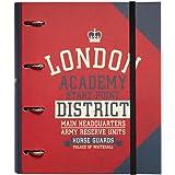 Erik® - Classeur A4 4 Anneaux - Londres   Classeur Rigide   Fournitures Scolaires, Fournitures de Bureau