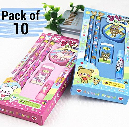 SponsoredTiedRibbons Kids Birthday Party Return Gift Sets For Girls Boys Stationary Set