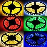 FAVOLCANO DC 12V Lichtstreifen 5M 300 5050 LED (30LED/M) 24W RGB