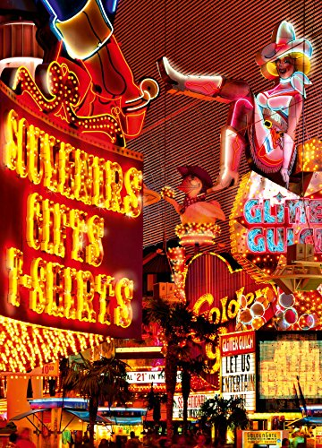 Idealdecor 435 Downtown Las Vegas 183 x 254 cm, 4-teilig