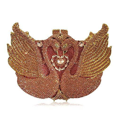 Luxus Diamond Abendtasche Handtasche Damen bevorzugten Hochzeit Kupplung Geldbeutel H