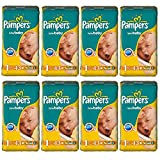 "Pampers Windeln New Born ""1"" Gr. 2-5 Kg Bis zu 688 Windeln (8 x 43 = 172 Stk)"