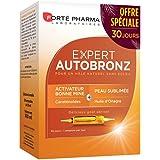 Forté Pharma - Expert AutoBronz | Complément Alimentaire à base de Carothénoïdes et Huile d'Onagre - Effet Bonne Mine | 20 am