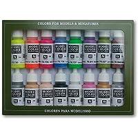 Vallejo val899 Peinture Model Color Wargames (Film) spécial peinture acrylique – couleurs assorties (Lot de 16)