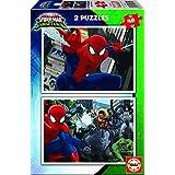 Spiderman - Puzzle, 2 x 48 piezas (Educa Borrás 17170)