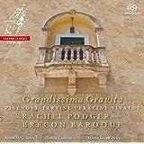 Grandissima Gravita : Œuvres pour Violon de Vivaldi, Tartini, Veracini, Pisendel. Podger, Brecon Baroque.